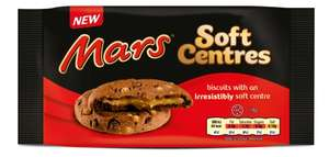 Mars Soft Centres Biscuits £0.50 / 20 Jaffa Cakes £0.90 @ Asda (Weymouth)