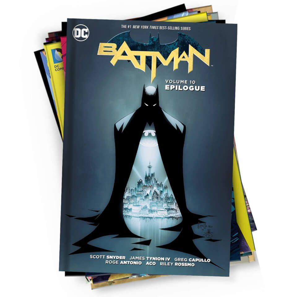 Mystery DC Comics Graphic Novel 10 Pack - £20.98 @ Zavvi