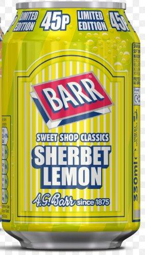 Barr Sherbet Lemon Flavour Drink (330ml) Can - 19p @ Home Bargains