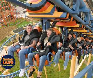 Flamingo land half price family ticket £64.50 2A 2C goes on sale 01/08 at 8am (valid summer holidays) via Minster FM