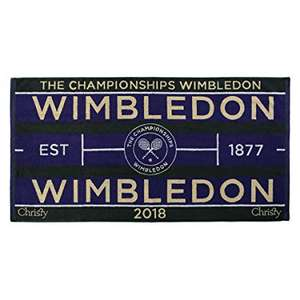 2018 Men's and Women's Wimbledon Championship Towels £10 Total @ Christy