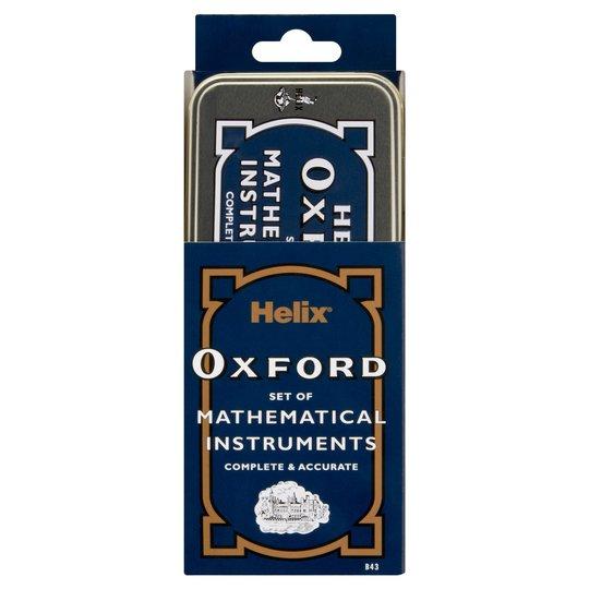 Oxford Maths Set In Tin half price - £2 @ Tesco