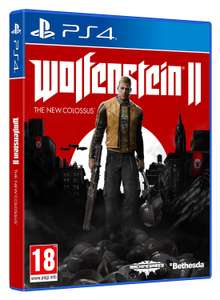 Wolfenstein 2: The New Colossus (PS4) - £11.85 delivered @ Base