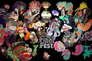 Free Splatoon 2 Final Fest Digital Wallpaper for 50 Platinum Points @ My Nintendo