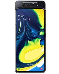 Samsung Galaxy A80 Black- 5000 mins, unl texts and 20GB Data £32pm for 24 months (Term = £768) @ Virgin Media