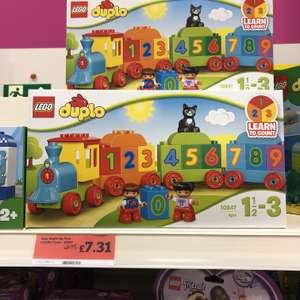 LEGO Duplo 10847 number train £7.31 in store at Sainsbury's
