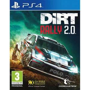 [PS4] Dirt Rally 2.0 £22.95 delivered @ The Game Collection