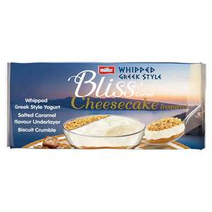 Muller Bliss Cheesecake yogurts still £1 at Morrisons