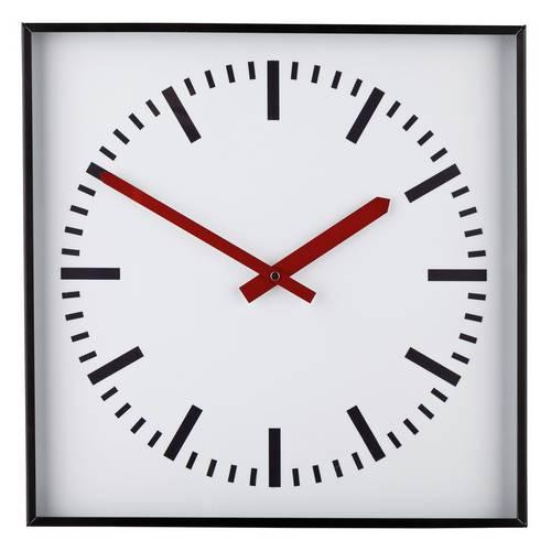 Argos Home Metal Wall Clock - Black and White £10.50 @ Argos (Free C&C)