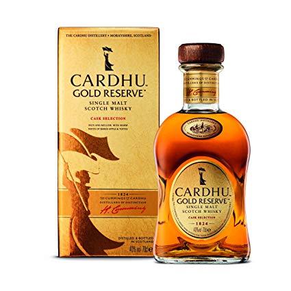 Cardhu gold reserve single malt whisky 70cl - £12.69 @ Tesco