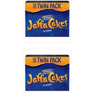 McVitie's The Original 2 x 18 Jaffa Cakes (36 Jaffa Cakes) = £1 online with code @ Iceland (1st August)