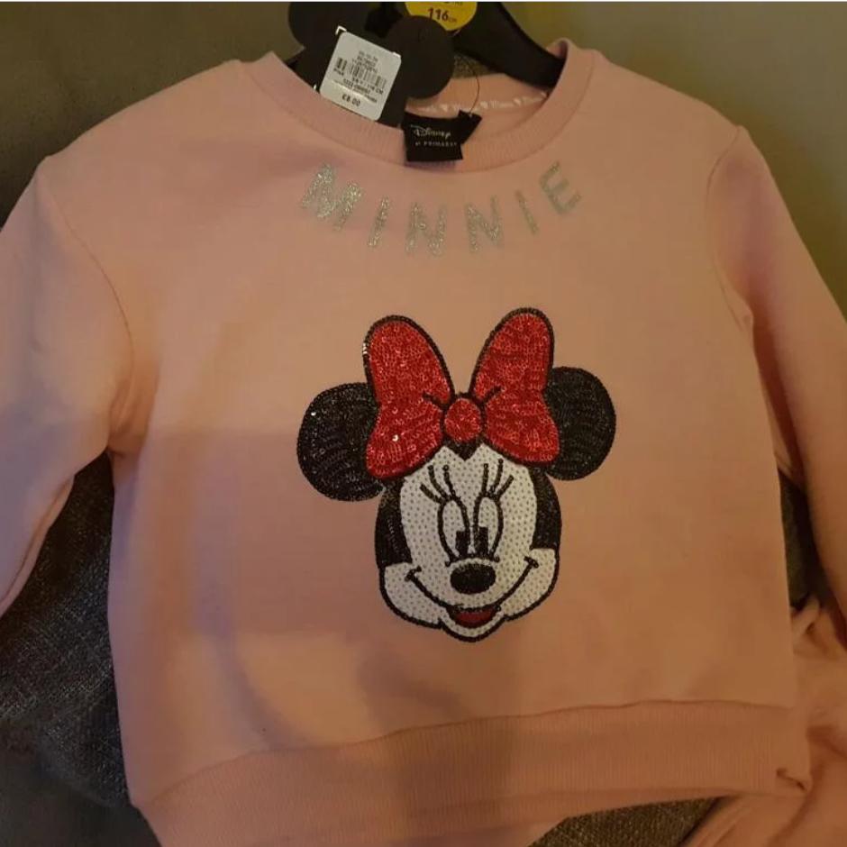 Kids Minnie Mouse Jumper - £1 Instore @ Primark