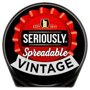 Seriously Strong cheese spreads 125g £1.00 @Morrisons