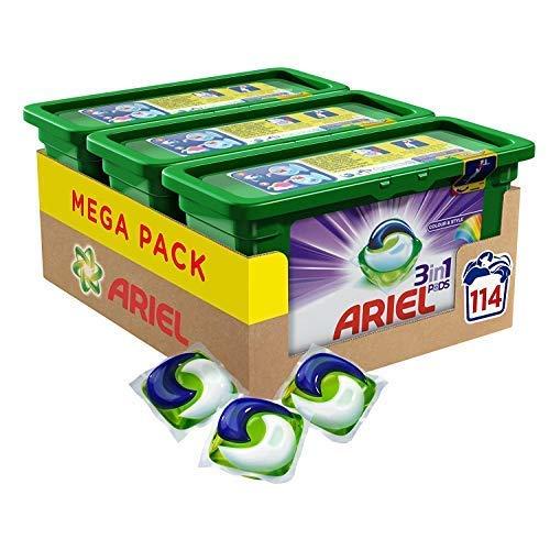 Ariel 3-in-1 Pods 114 Washes £18 @ Amazon (£22.49 Non-prime)