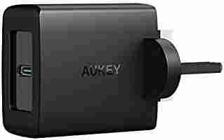AUKEY USB-C Charger 27W £11.99 w/voucher @MingXi EU FBA (+£4.49 Non-Prime)