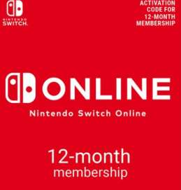 Nintendo Switch Online 12 Month Membership £14.79 @ CDKeys