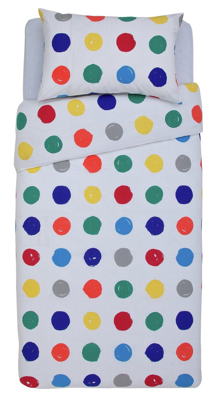 Argos Home Bright Handpaint Spot Bedding Set - Single  - £6.00 (free C&C) @ Argos