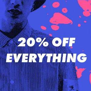 20% OFF EVERYTHING 7PM - 9PM TODAY @ ASOS