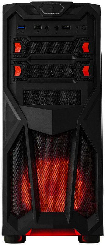 EG Caesium USB 3.0 ATX Tower Gaming Case (390 x 180 x 413mm) - £14.98 @ eBuyer (+p&p £3.49)