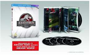 JURASSIC PARK Premium Collection. Inc: Blu-Ray 3D, Blu-Ray + Digital HD £8.99 Sold by Venture Online and Fulfilled by Amazon / £11.98 NP
