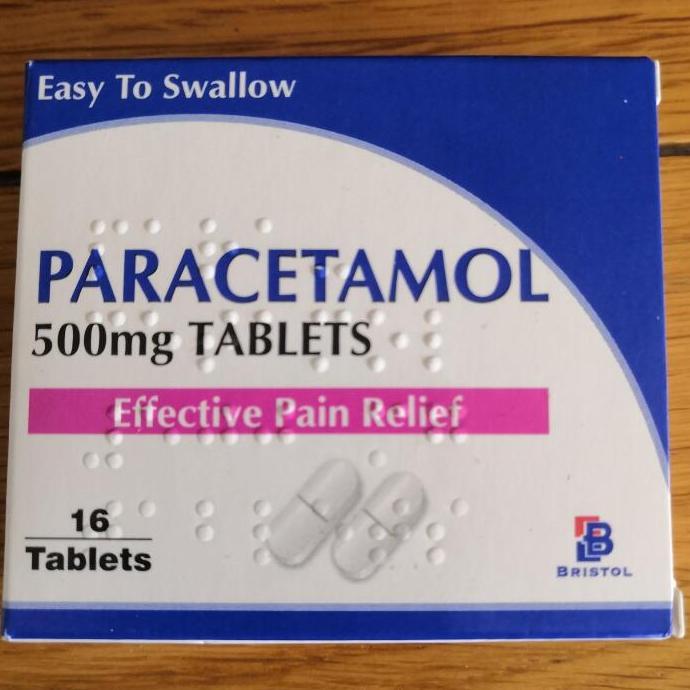 Bristol Labs Paracetamol 500mg 16 tablets 19p @ Savers