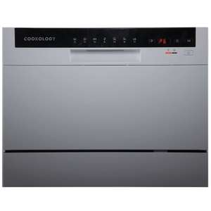 Cookology CTTD6SL Silver Table Top Dishwasher - £143 Delivered (With Code) @ thewrightbuyltd / eBay store