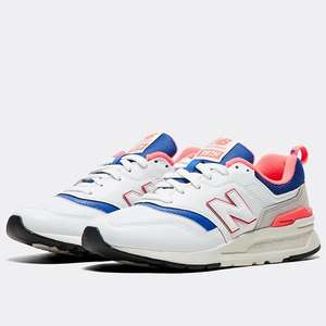 New Balance 997 White Laser Blue at offspring £26 with free C&C + £3.50 with p&p