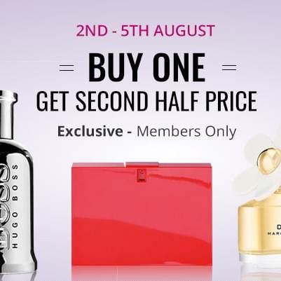 Buy one get one half price on fragrances for beauty card holders @ Superdrug
