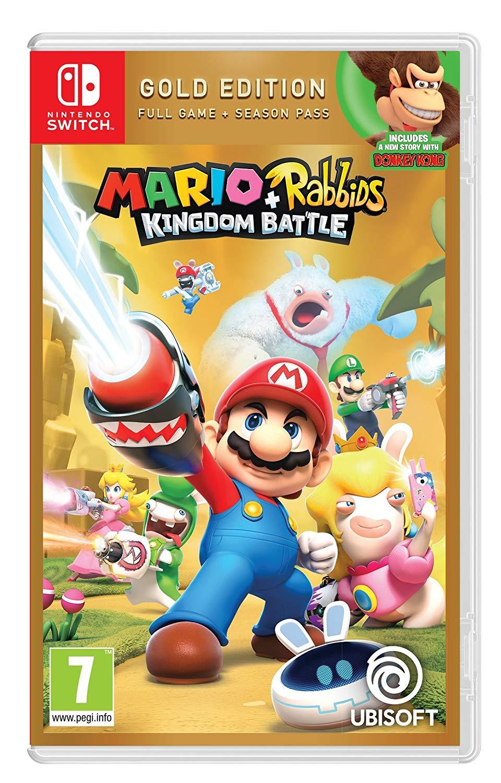 Mario Rabbids Kingdom Battle Gold Edition - £11.25 instore @ Tesco