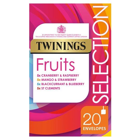 Twining fruits 20 pack - £1.83 instore @ Tesco