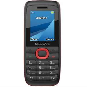 Vodafone Mobiwire Ayasha Mobile Phone now 99p / £10.97 free click and collect at Argos (£10 Top-up required)