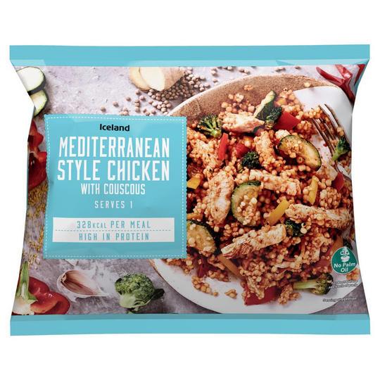 Iceland Mediterranean Style Chicken with Couscous 400g £0.75 @ Iceland