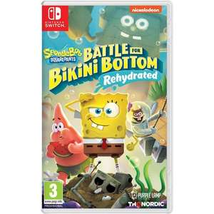 Pre-order SpongeBob Squarepants Battle For Bikini Bottom Rehydrated (Switch/PS4/Xbox One) £26.99 @ Smyths Toys