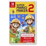 Super Mario Maker 2 with 12 months Nintendo Switch Online Membership £46.85 @ Base - free delivery