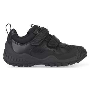 Extreme Pre, Black Leather Boys Riptape Pre-School Shoes (was £49.99) Now £17.99 @ Start Rite delivered