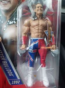 Wrestling Figures £2 each from B&M