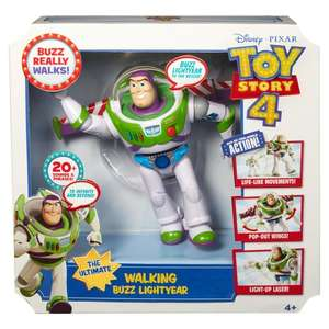 Toy story 4 walking buzz light year £8.75 @ Tesco