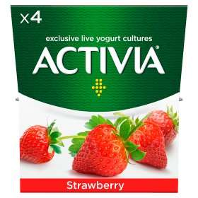 Activia yogurts 4 pack (Various flavours) 95p @ Asda. More in OP