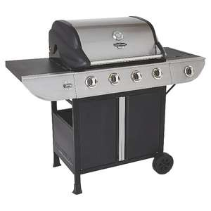 Uni Flame 4 Burner Gas BBQ £44.75 down from £179 instore @ ASDA