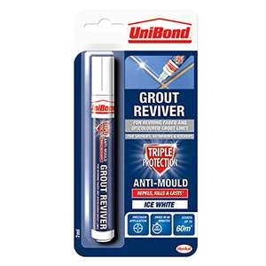 UniBond Grout Reviver Pen / Anti-mould grout pen now £3 add-on item at Amazon