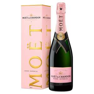 Moet & Chandon Rose 75cl £30 @ Morrisons