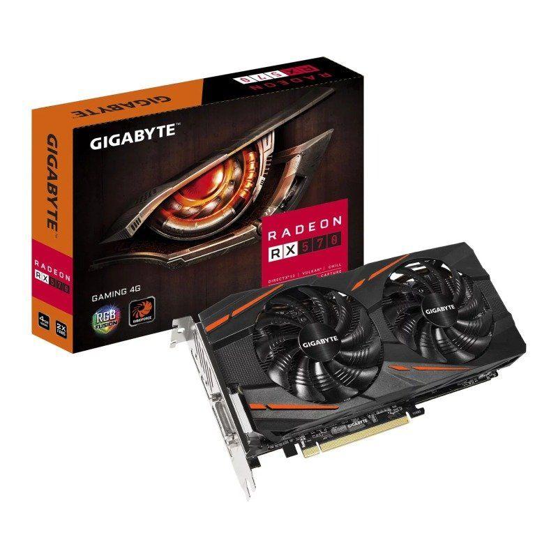 Gigabyte Radeon RX 570 4GB GAMING Graphics Card - £115.97 @ Ebuyer