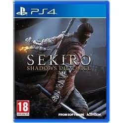 Sekiro (PS4) - £30 Instore @ Asda Bridgend