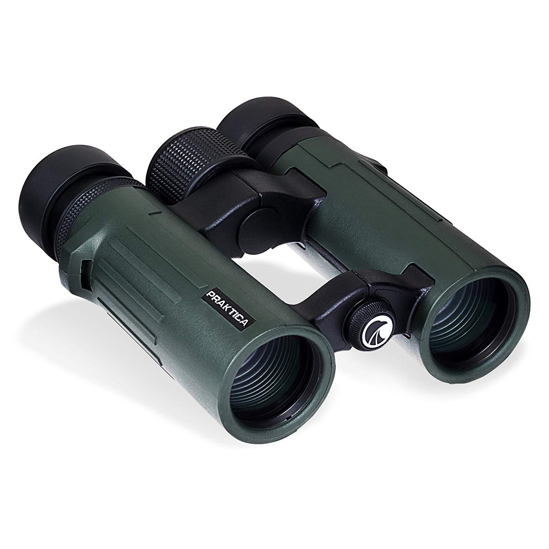 PRAKTICA 10 x 34 mm Pioneer Waterproof Binoculars - Fog Proof - All Weather use - Low Stock Find - £37.47 @ Amazon