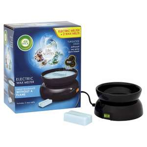 Air Wick Electric Wax Melter with Turquoise Oasis Refills £5.49 @ Home Bargains