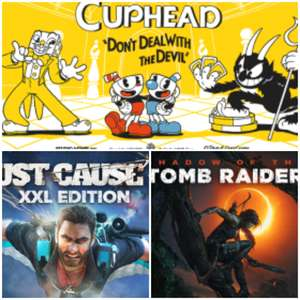 Extra 12% off PC Games at Green Man Gaming E.G. Just Cause 3 XXL £3.87 / Cuphead £10.55 / SOTTR £13.15
