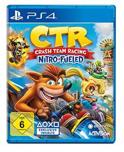 Crash Team Racing Nitro-Fueled (PS4 Game) - £22.32 (£20.75 w/fee free card) delivered @ Amazon Germany