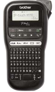 Brother PT-H110 Label Maker, P-Touch Labeller, QWERTY Keyboard, Handheld £17 at Amazon Prime / £21.49 Non Prime