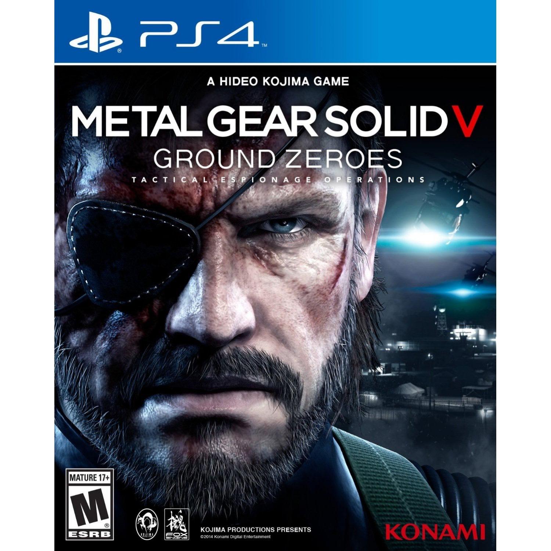 Metal Gear Solid V: Ground Zeros PS4 £2 48 / Phantom Pain £3 96