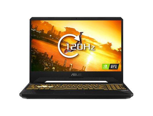 "Asus TUF FX505DV NVIDIA RTX 2060, 16GB, 15.6"" 120hz IPS FHD, 512GB,  Ryzen7-3750H Gaming Laptop £1096.74 at CCL Online (free games promo)"